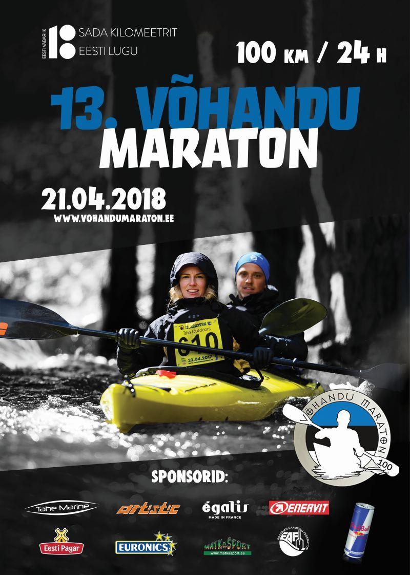 13. Võhandu maraton 2018