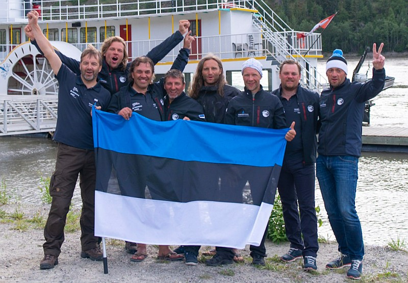 Yukon River Quest 2018 Team Estonia