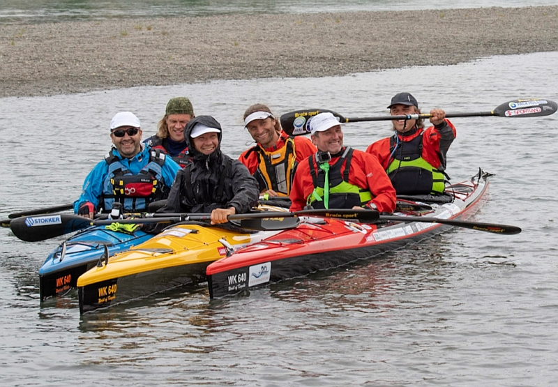 Võhandu maraton ja Yukon River Quest 2018 Team Estonia