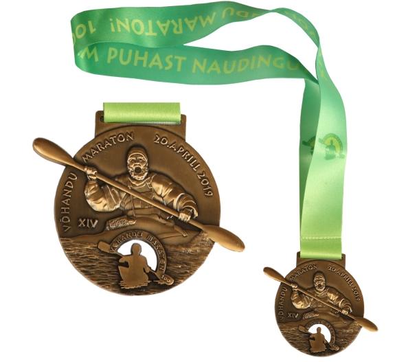 14. Võhandu maratoni medal 2019