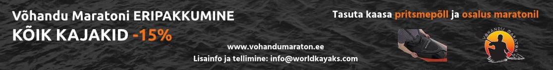 Vohandu maraton ja World of Kayaks pakkumine