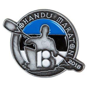 13. Võhandu maraton 2018 rinnamärk