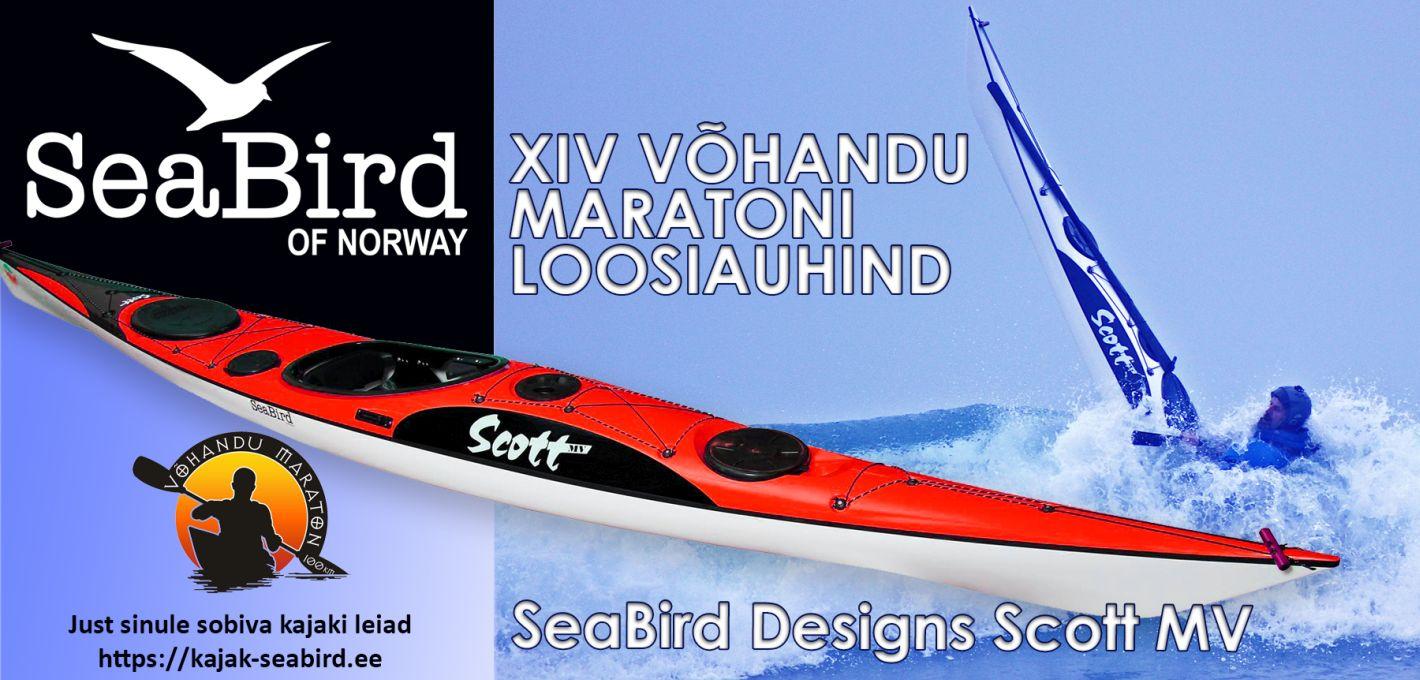 Sea Bird Designs toetab Võhandu maratoni