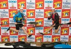 Braca aer on enim kasutatud aer Võhandu maratoni võitjate hulgas.