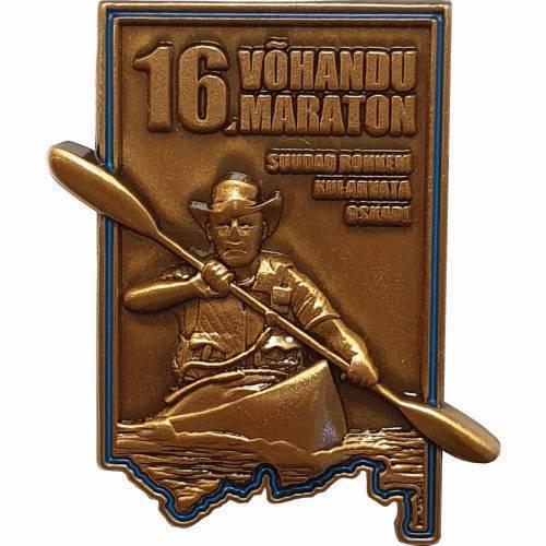 16. Võhandu maratoni märk